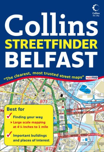 (Belfast Streetfinder Colour Map)