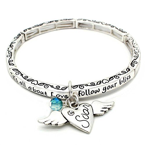 All About Love Charm Bracelet, 'Soar' - This Stretchy Bangle Bracelet Is The Perfect Gift Making Anyone Feel Special And Loved - Contortionist Costume