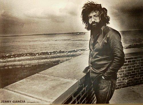 (24x33) Grateful Dead (Jerry Garcia, Copenhagen 1971) Music Poster Print (1971 Poster Print)