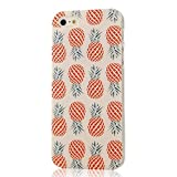 Landfox Colorful Pineapple Pattern Soft Case for iPhone 5 5s