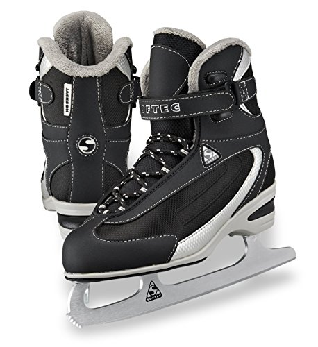 Jackson Ultima Softec Classic ST2300 Womens and Girls Figure Ice Skates - Black, Navy, White Black Womens Ice Skates