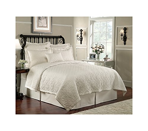Waterford Linens Lismore King Quilted Pillow Sham