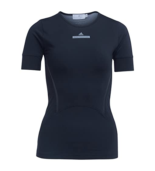 Camiseta de running Adidas by Stella McCartney negra: Amazon.es: Ropa y accesorios