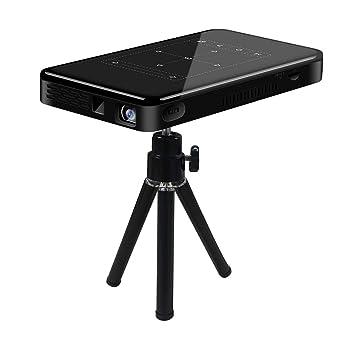 BNCYF Proyector Portátil Bluetooth WiFi Mini Proyector 50 Lúmenes ...