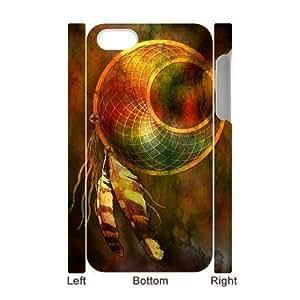 3D Bumper Plastic Case Of Dream Catcher customized case For Iphone 4/4s