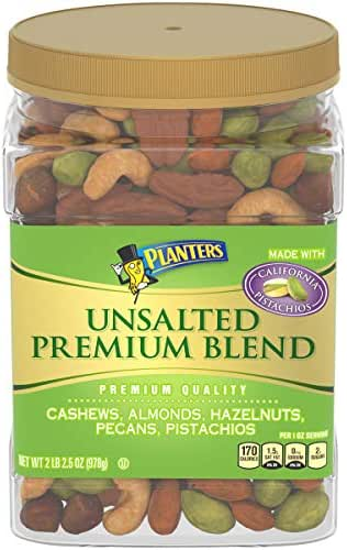Nuts & Seeds: Planters Premium Unsalted Blend