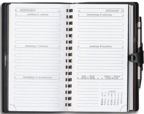 7.8 x 12.7 Bianco Intempo 7039MDW 2015 Ricambio Mood Agenda Settimanale Piccolo