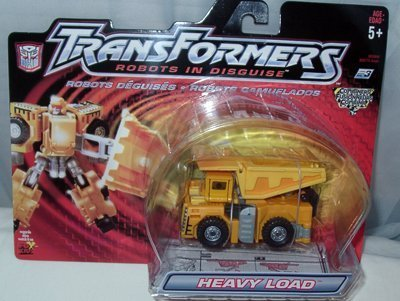 Transformers Robots in Disguise Combiners - Heavy Loader - Released in Year 2001