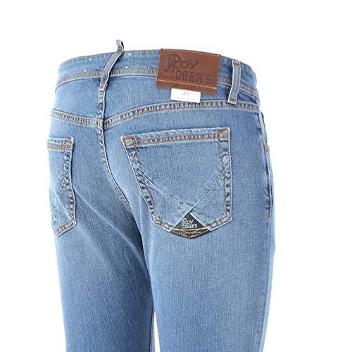 175a52812159 Malwie Roger's Denim Roy Stretch Blu Jeans 40 Campa Uomo CqwwYRv