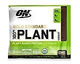 #6: Optimum Nutrition Gold Standard 100% Organic Plant Based Vegan Protein Powder, Chocolate, 43 Gram