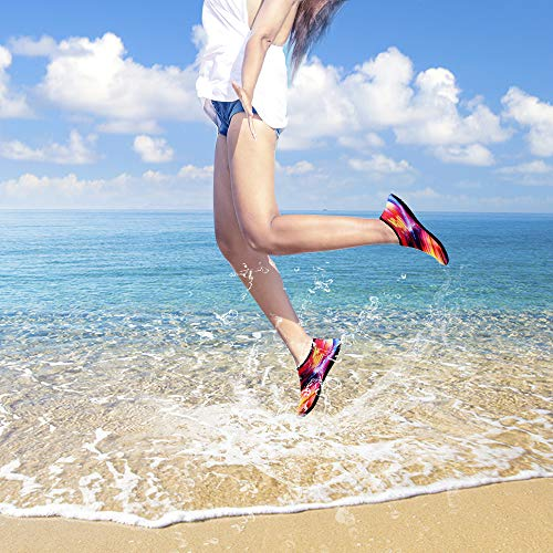 Snorkeling Water Sock Surf Dry Women TOPSION Shoes Ts2 Beach and Swimming Quick Shoes for Yoga Men Barefoot Aqua for Tvwxdq