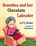 Grandma and Her Chocolate Labrador