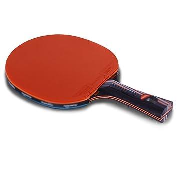 Raqueta de Tenis de Mesa Set Paquete | Incluye 2 Premium (5 Estrellas) Ping