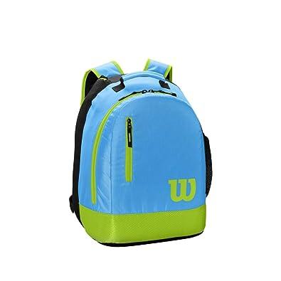 Wilson Mochila juvenil de tenis, 2 compartimentos con cremallera ...