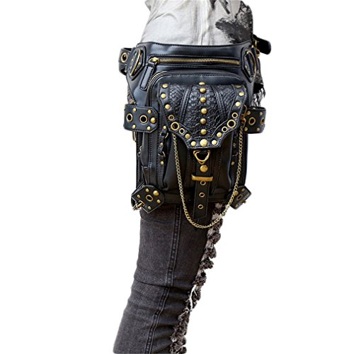 MIRUIKE Punk Waist Bag