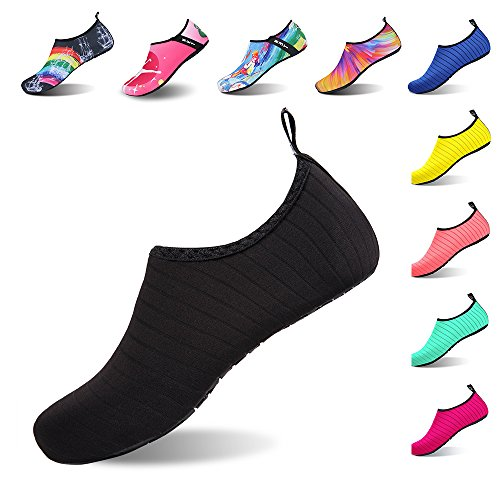 Mens Barefoot Skin Diving Socks Striped Exercise Snorkeling Womens Surfing Outdoor IceUnicorn Shoes Shoes Black Running Swim Yoga Beach for Water qxCqwY8E