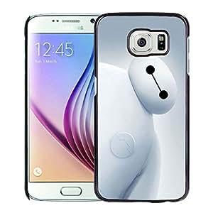 Big Hero 6 Bayma For Samsung Galaxy S6 Black Case Cover