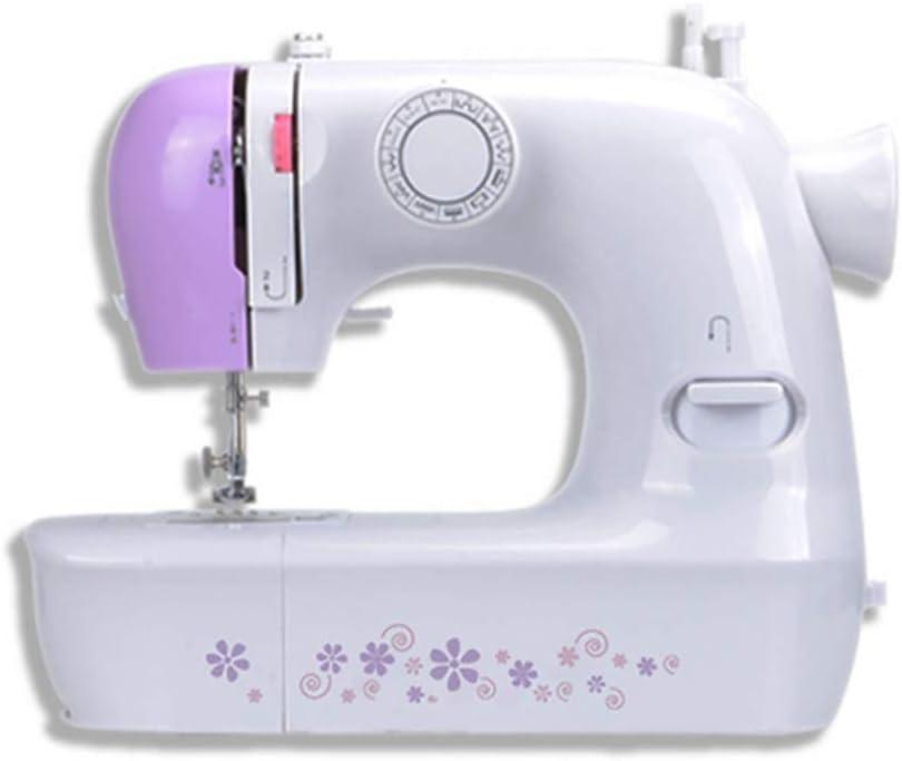Máquina de coser con luz, Mini Maquina de Coser Portatil con Cajón ...