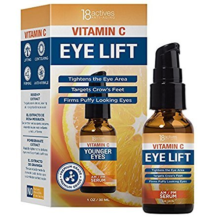 Serum Lift Defense (18Actives Vitamin C Eye Lift Serum 1oz / 30ml)