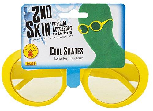 Rubie's Second Skin Funhouse Yellow Capri Sunglass -