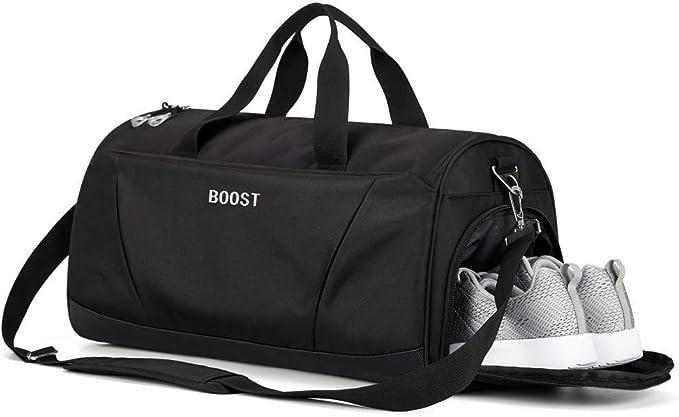 Amazon.com: Bolsa de deporte con bolsillo húmedo y ...
