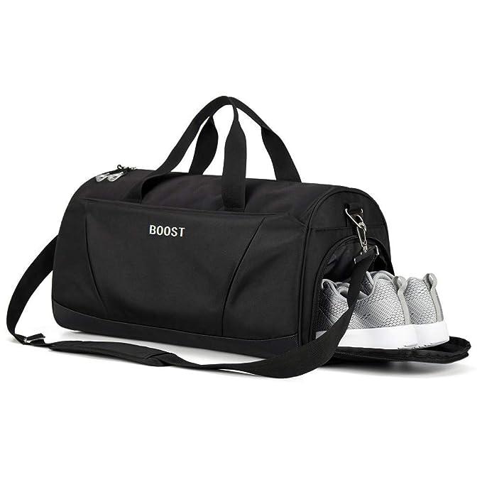 f0c5c0c77d1b Sports Gym Bag with Wet Pocket & Shoes Compartment for Women & Men