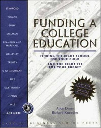 Funding a College Education: Finding the Right School for Your Child and the Right Fit for Your Budget