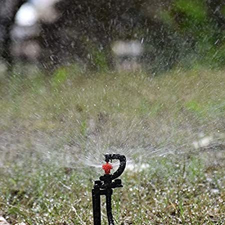 360 Degree Rotation Watering Garden Sprinklers Automatic Drip Irrigation