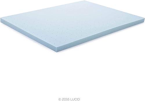 Lucid 3-inch gel memory foam mattress topper review