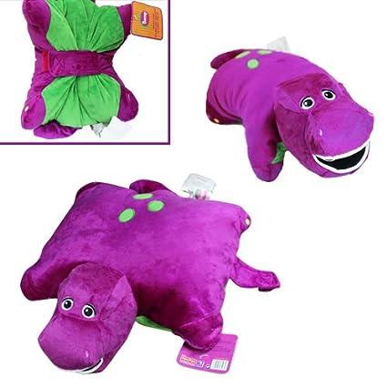 Amazon.com: Lindo. Barney dinosaurio cojín de 12