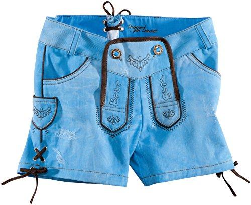 Blau folcloristici da Pantaloni pelle in Stockerpoint Sky Roxy Blu donna qCawRnPx