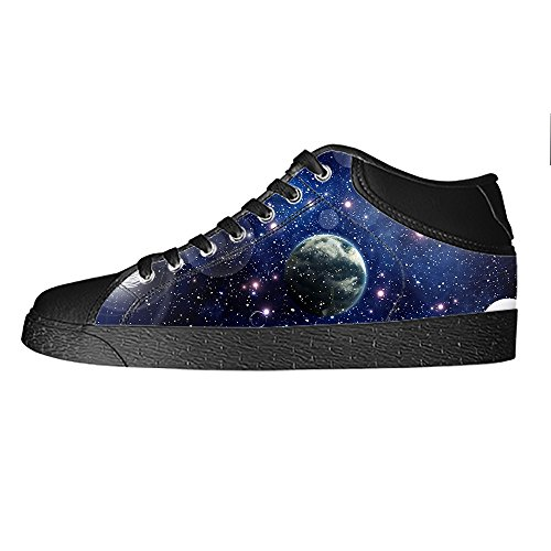 Lacci Scarpe Tetto Women's Da Ginnastica Delle Custom Universo Alto Piatto I Canvas Shoes PkTXOuZi