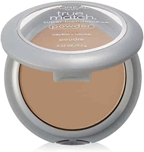 L'Oréal Paris True Match Super-Blendable Powder, Classic Ivory, 0.33 oz.