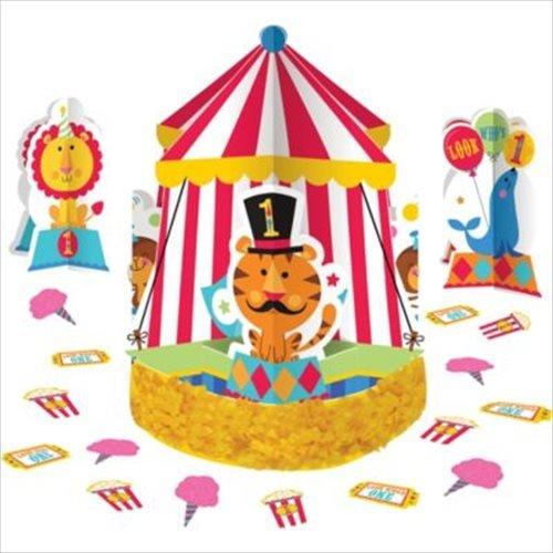 (Fisher-Price 1st Birthday Circus Centerpiece Kit 23)