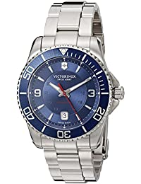 Men's 'Maverick' Swiss Automatic Stainless Steel Casual Watch, Color Silver-Toned (Model: 241706)