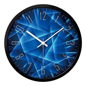 Zhi Wall Clock Silent Non Ticking The Living Room Clock Bedroom Mute Wall Clock