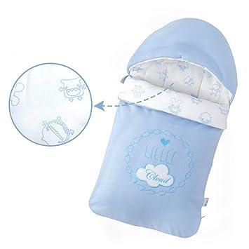GAOYY Saco De Dormir Bebe para El Invierno Recién Nacido Algodón Cálido Sacos De Algodón Cozy Safe Presents Lavable A Máquina,Blue-75x40cm: Amazon.es: Hogar