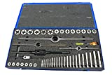 Morse Cutting Tools 37002 Fractional Tap and Die Sets, High-Speed Steel, 101 Number