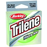 Berkley Trilene Micro Ice Fishing Line, Clear Steel