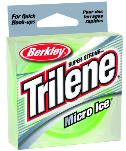 Trilene Micro Ice (Best Braided Ice Fishing Line)