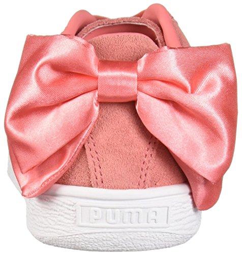shell Puma Suede Bow Pink Pink Puma367317 Femme Shell YpqpxBUA