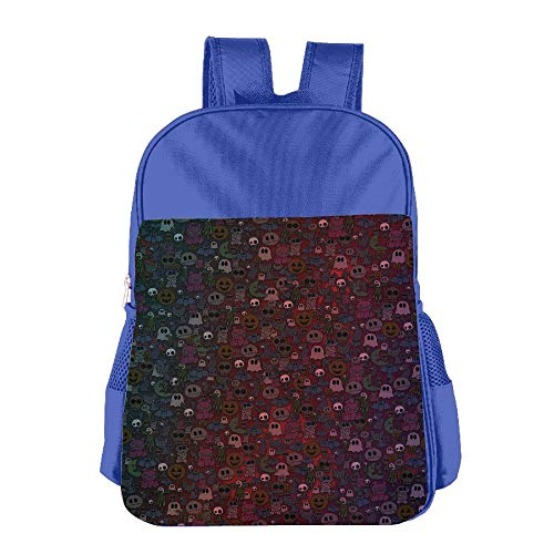 School Bag Backpacks For Girl Boy Happy Halloween Little Monsters Children High School Backpack