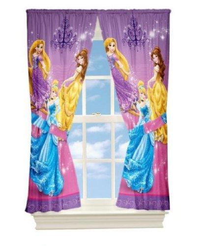 Disney Princesse Rideaux 104x160cm - Royal Purple Deux Panneaux ...