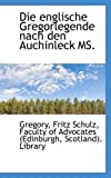 Die Englische Gregorlegende Nach Den Auchinleck Ms, Gregory, 1110249993