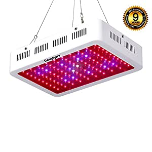 Roleadro LED Grow Light - Full Spectrum Grow Lights for Indoor Plants from Seeding to Harvest Galaxyhydro-series 300W with UV/IR Higher Actual Power/PAR