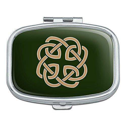 Rectangular Celtic Knot - Celtic Knot Love Eternity Rectangle Pill Case Trinket Gift Box