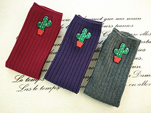 Acvip Rouge Taille Chaussettes Bordeaux Unique Fille 67rAnSq6