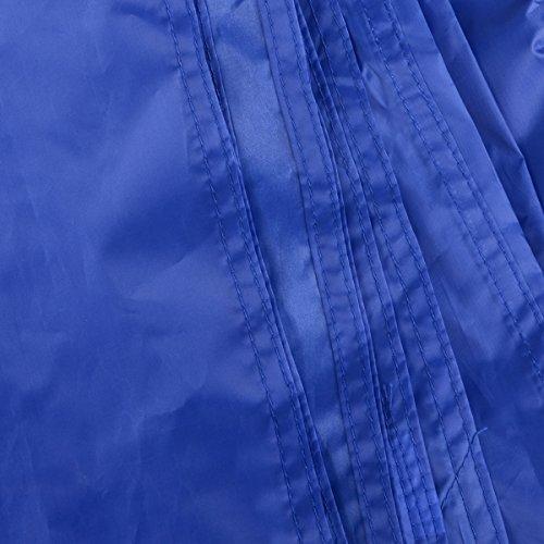 Triwonder Outdoor Waterproof Camping Shelter Footprint Groundsheet Beach Picnic Blanket Mat (Dark Blue, L+Accessories)