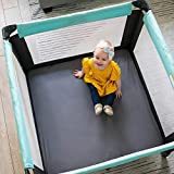 SheetWorld Fitted Square Playard Sheet Fits