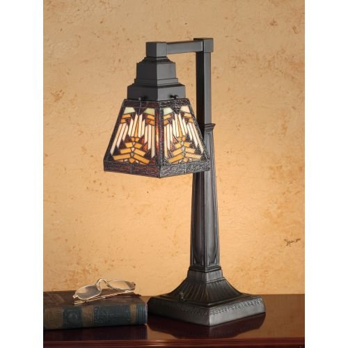Meyda Tiffany 66527 Nuevo Mission Desk Lamp, 20